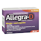 Allegra-D Allergies and Nasal Congestion Non-Drowsy 20 Sustained-Release Caplets