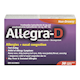 Allegra-D Allergies and Nasal Congestion Non-Drowsy 30 Sustained-Release Caplets