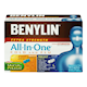 Benylin Extra Strength All-In-One Cold and Flu Day and Night plus Daytime Relief of Mucus and Phlegm 20 Day Caplets and 20 Night