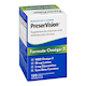 Bausch + Lomb Preservision Eye Vitamin & Mineral Supplement Omega-3 Formula 120 Soft Gel Capsules
