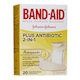 BAND-AID plus Antibiotic 2-In-1 with Polysporin Bandages 20 Bandages