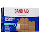 BAND-AID Flexible Fabric Bandages 80 Bandages