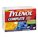 Extra Strength Tylenol Complete Cold Cough & Flu Convenience Pack Daytime and Nighttime 40 Caplets