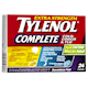 Extra Strength Tylenol Complete Cold Cough & Flu Convenience Pack Daytime and Nighttime 24 Caplets