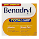 Extra Strength Benadryl Total Allergy & Sinus, 30 Caplets