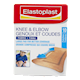 Elastoplast Knee and Elbow Fabric Large Pad for Better Coverage 10 Patches