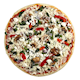 from our Chefs Stone Baked Veggie Pizza 395 g