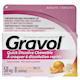 Gravol Quick Dissolve Chewable Tablets Dimenhydrinate Tablets Usp 50mg 8 Orange Flavour Tablets