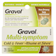 Gravol Muli-Symptom Cold & Fever 20 Tablets