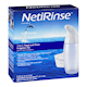 hydraSense Netirinse 2-In-1 Nasal and Sinus Irrigation Kit 1 x 240 mL Bottle, 1 x Netirinse Comfortseal Soft Nozzle, 60 x Pre-Me