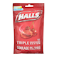 Halls Triple Soothing Action Mentho-Lyptus Cherry 30 Cough Tablets