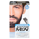 Just for Men Mustache and Beard Brush-In Colour Gel Real Black M-55
