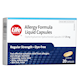 Life Brand Allergy Formula Liquid Capsules Diphenhydramine Hydrochloride 25mg x 20 Capsules