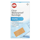 Life Brand Clear Waterproof Bandage Latex Free 10 Bandages