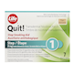 Life Brand Quit! Stop Smoking Aid Transfermal Nicotine Patch Step 1 Tan 7 Patches