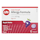 Life Brand Junior Strength Allergy Formula Diphenhydramin Hydrochloride Grape Flavour 12.5mg x 12 Tablets