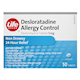 Life Brand Desloratidine Allergy Control 5mg x 50 Tablets