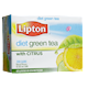 Lipton Diet Green Tea Natural Flavours with Citrus 12 Cans x 355mL