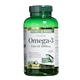 Nature's Bounty Coated Omega-3 Fish Oil 1000Mg x 180 Softgels