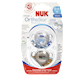 NUK Orthostar Design Advanced Orthodontic Pacifier 0-6M 2 Pacifiers