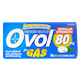 Ovol Simethicone Tablets for Gas Mint Flavour 80mg x 50 Tablets