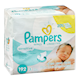 Pampers Sensitive Wipes 192 Wipes