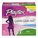 Playtex Gentle Glide 360° Tampons Avec Applicateur en Plastique Super Non-Parfumés 36 Tampons