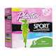 Playtex Sport Tampons Avec Applicateur en Plastique Super Non-Parfumés 36 Tampons
