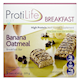 Protillife Diet Breakfast Banana Oatmeal Breakfast Bar 5 Bars x 45 g