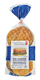 President's Choice Thins Whole Grain White Thin Buns