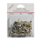 Somore Safety Pins Assorted Assorted Silver and Gold 100 Safety Pins