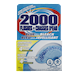 2000 Flushes Blue plus Bleach Automatic Toilet Bowl Cleaner 100g