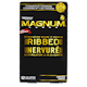 Trojan Magnum Ribbed Lubricated Latex Condoms 12 Condoms