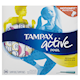 Tampax Pearl Active Plastic Tampons Régulier Degré D'Absorption 36 Tampons