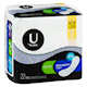 U by Kotex Long Super Security Maxi 22 Wrapped Pads