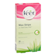 Veet Easygrip Ready-To-Use Wax Strips Aloe Vera and Lotus Flower Fragrance 20 Wax Strips + 4 Wipes