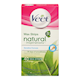 Veet Natural Inspirations Wax Strips Sensitive Formula Legs & Body 40 Strips