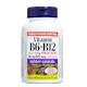 Webber Naturals Vitamin B6 B12 with Folic Acid 90 Tablets