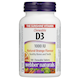 Webber Naturals Chewable Vitamin D3 100IU Orange Flavour 180 Tablets