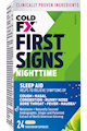 COLD-FX® First Signs Nighttime