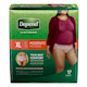 Depend Fit - Flex Incontinence Underwear for Women, Moderate Absorbency, XL,17 count