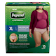 Depend Fit - Flex Incontinence Underwear for Women, Maximum Absorbency, XL,15 count