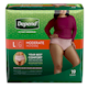 Depend Fit - Flex Incontinence Underwear for Women, Moderate Absorbency, Large,19 count