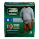 Depend Fit - Flex Incontinence Underwear for Men, Maximum Absorbency, XL,15 count