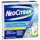 NeoCitran Cold & Sore Throat Night Hot Liquid Medication Regular Strength Lemon 10 pack