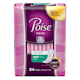 Poise Ultra Thin Incontinence Pads, Light Absorbency, Long, 24 Count