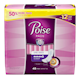 Poise Incontinence Pads, Original Design, Ultimate Absorbency, Long, 45 Count
