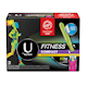 U by Kotex Fitness Tampons with FITPAK, Regular Absorbency, Fragrance-Free, 31 Count