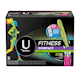 U by Kotex Fitness Tampons with FITPAK, Super Absorbency, Fragrance-Free, 31 Count